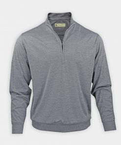 Fairway Pullover - Grey DR211LS-MSP-055_FV
