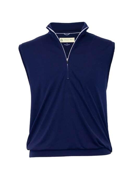 Mens Performance Golf Pullover Vest