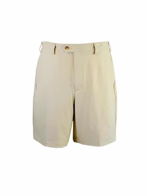 Mens Khaki Golf Shorts