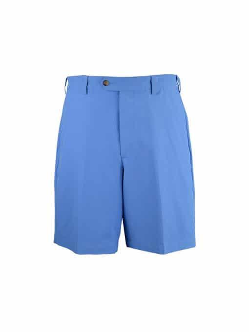 Mens Light Blue Golf Shorts