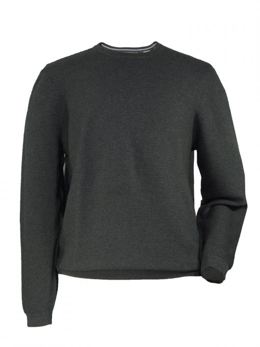 Mens Cotton Crewneck Golf Sweater
