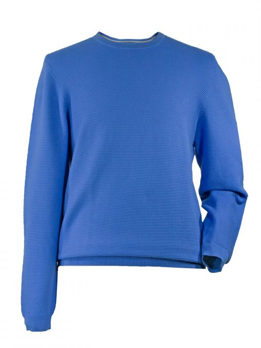 Mens Cotton Crewneck Golf Sweater