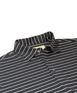 Mens Long Sleeve Performance Golf Polo Shirt