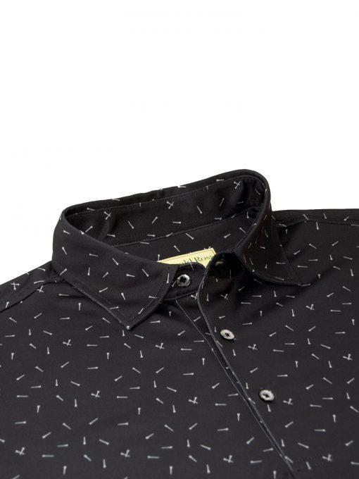 Mens Performance Golf Print Polo Shirt