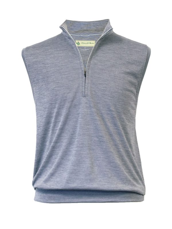 Mens Performance Golf Pullover Vest