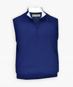 The Original Links Pullover Vest - Navy DR296V-MSP-400_FV