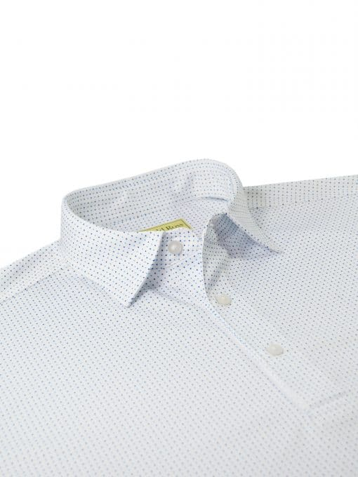 Dots Print Performance Golf Polo Shirt