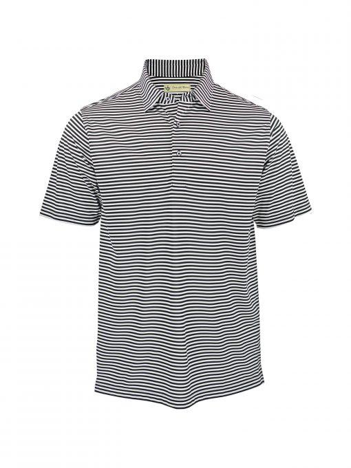 Classic Feeder Stripe Jersey - Black/Cream DR019-220-001_FV