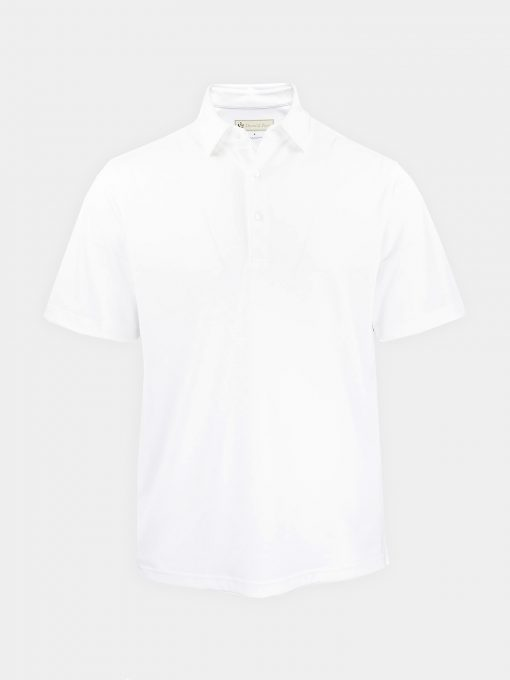 Solid Self Collar Performance Jersey - White DR076SC-MSP-100_FV