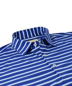 Bold Shadow Stripe Jersey - Navy/Pacific Multi DR022-220-400