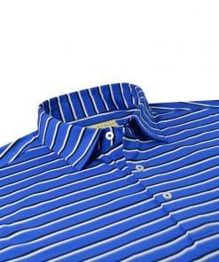 Bold Shadow Stripe Jersey - Royal/Black Multi DR022-220-440