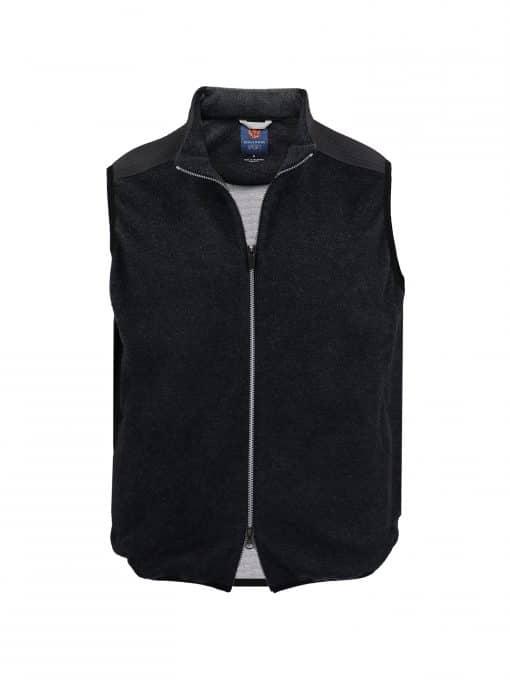 HUNTER Performance Wool Fleece Vest - Charcoal SP400V-220-051_FV