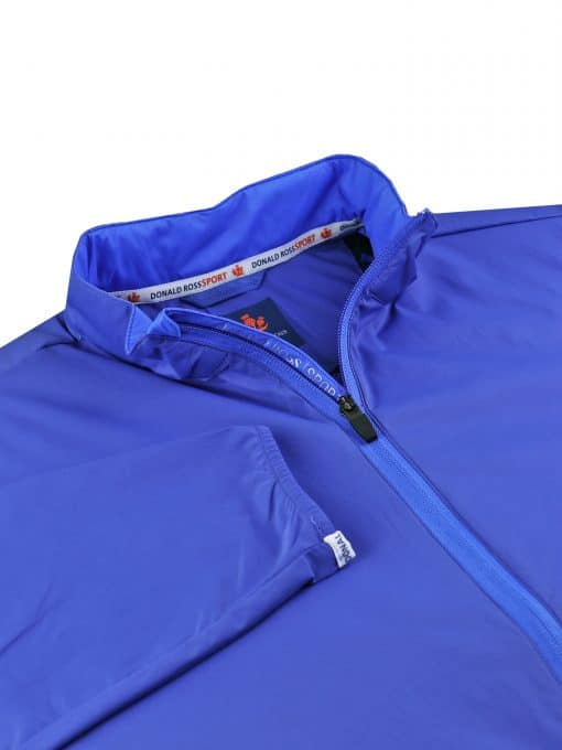 EXPEDITION FULL ZIP PERFORMANCE JACKET - NAVY SP600LS-220-400_FV