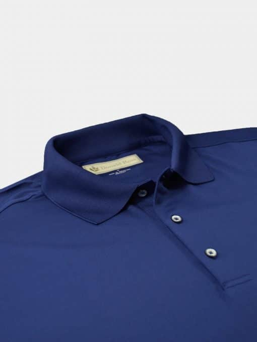 Solid Performance Pique Knit Collar - Navy DR015-MSP-400_1