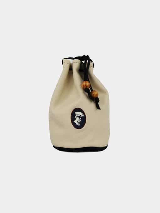 DR Profile Valuables Pouch - Cream/Navy IMG_2898