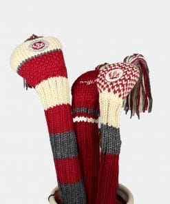 Knit Headcover Set - Red