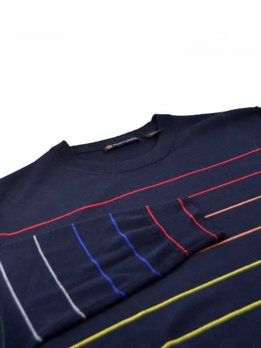 CALVIN - Italian Merino Wool Crewneck SP301-220-400