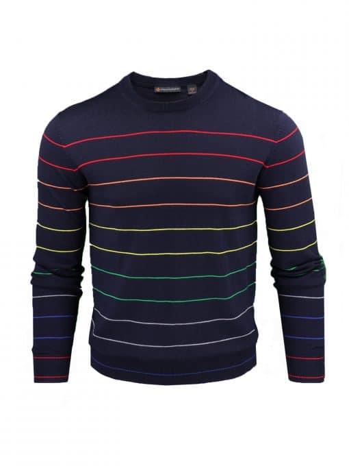 CALVIN - Italian Merino Wool Crewneck SP301-220-400_FV