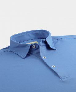 Solid Performance Pique Self Collar - Dolphin DR015SC-121-410