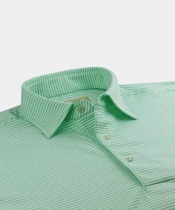 Seersucker Feeder Stripe Jersey - Fresh Mint/Cream DR019S-121-317