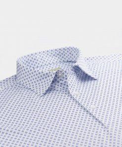 Diamond Print Jersey - White/Navy/Juniper DRP039-121-100