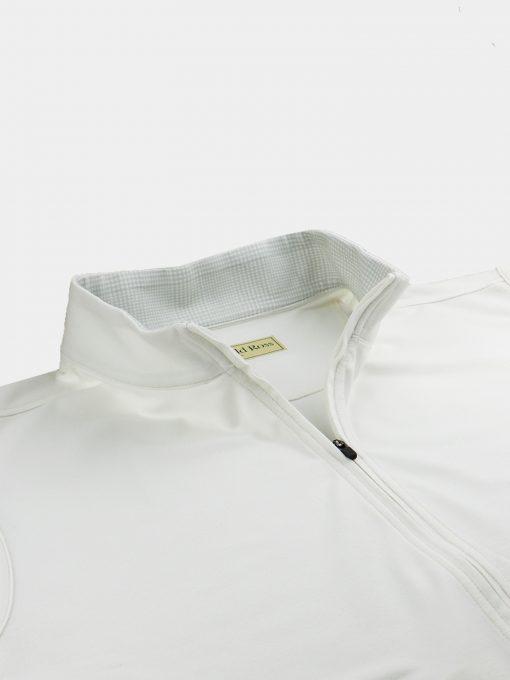 TYR Fleece Vest - White DR203V-121-100