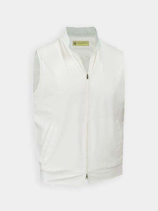 TYR Fleece Vest - White DR203V-121-100_FV