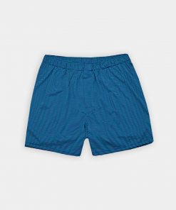 Horizontal Stripe Boxer Short - Navy/Fresh Mint/Juniper DRP031BX-121-400 copy