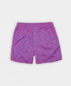 Palm Tree Print Boxer Short - Pinkberry/Royal DRP038BX-121-507 copy