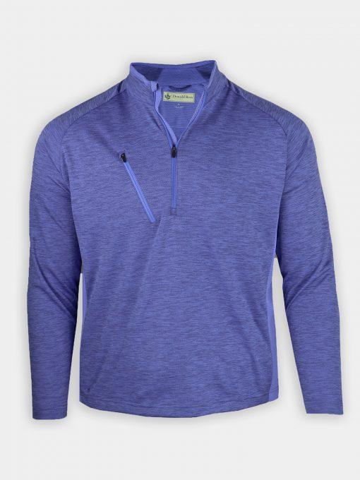 Thermal Stretch Pullover - Royal DR1809-121-440_FV